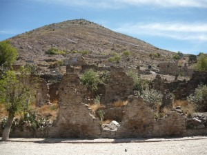 Ruinas en Real de Catorce